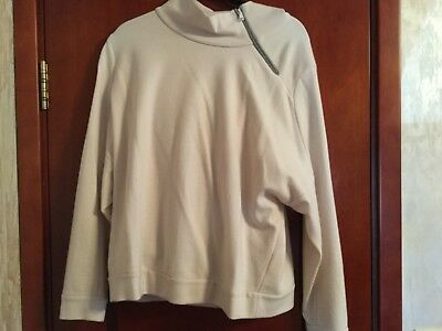 BRUNELLO CUCINELLI Beige Cashmere Sweatshirt with track pants with Manili size L