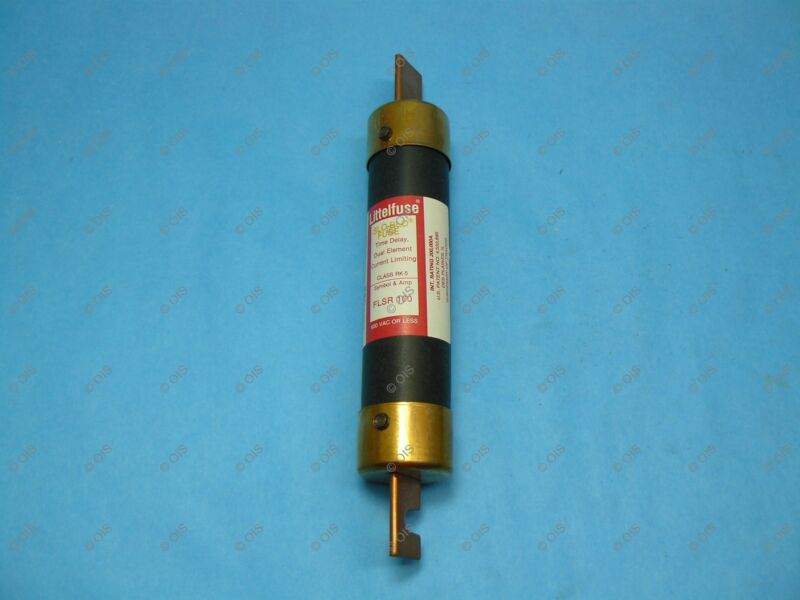 Littelfuse FLSR100 Time-delay Fuse Class RK5 100 Amps 600VAC/300VDC New