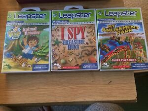 3 Leapster Games by Leapfrog