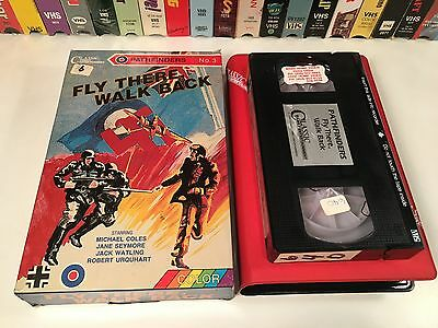 * Fly There, Walk Back WWII Aviation Drama VHS 1972 Pathfinders TV Series No. 3