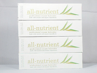 (All-Nutrient Permanent Haircolor Natural Organic Hair Color RUBY Series R)