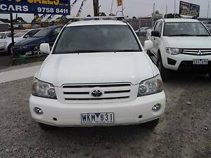 2006 Toyota Kluger Wagon 7 SEATER LEATHER INTERIOR Ferntree Gully Knox Area Preview