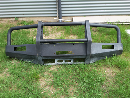 Light weight steel bullbar