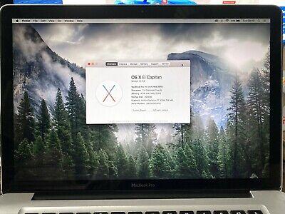 "Apple MacBook Pro A1286 15.4"" Laptop Mid 2010"