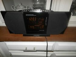 Sharper Image Stereo Sound Soother Alarm Clock Radio, Model su 502 works perfect
