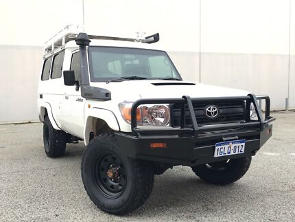 2012 Toyota LC Workmate V8 Troopcarrier 8-Seater