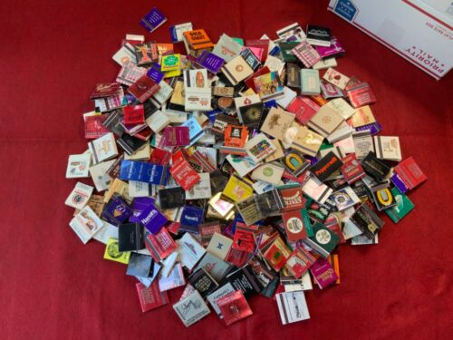 HUGE LOT OF MOSTLY CASINO MATCHBOOKS