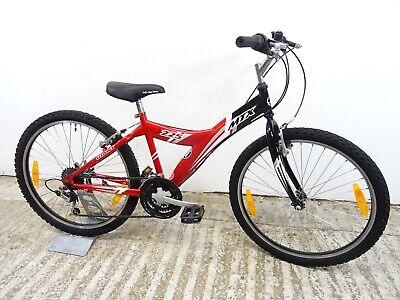 "Giant MTX 225 24"" Boys Kids Unisex Hybrid Mountain Bike 14"" Lg Age 9-11 GC"