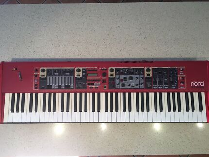 Nord Stage 76 Revision B Mint Condition w/ Nord Case w/Wheels
