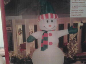 12ft inflatable snowman