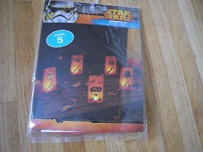 New ! Makes 5 Disney Star Wars Luminaries Kit 5 bags](Halloween Luminary Bags Make)