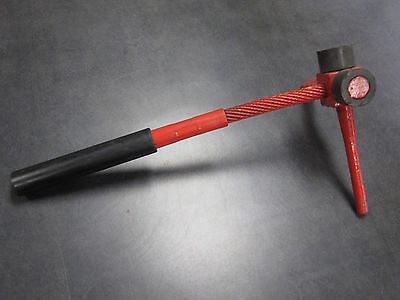 Bucket Tooth Pin Removal Tool With A 58 Diameter Punch