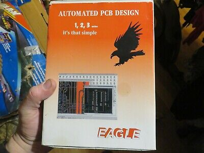 Eagle 4.1 Automated PCB Printed Circuit Board Design Software