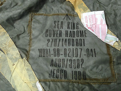 Sea King radome cover unused.