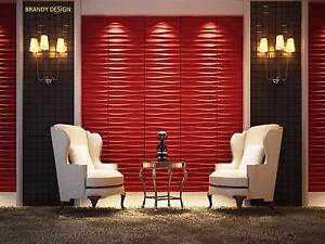 3D Wall Panels, 3sqm, DIY Paintable, glue on wall tiles