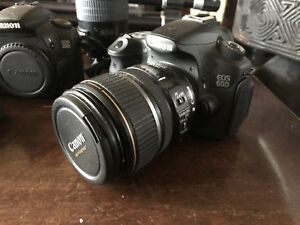 Canon 60d with efs 17-85 mm