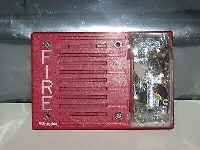 Simplex 4903-9252 Fire Alarm Audible Horn Strobe 15cd