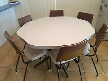 Retro dining table and chairs Annandale Townsville City Preview