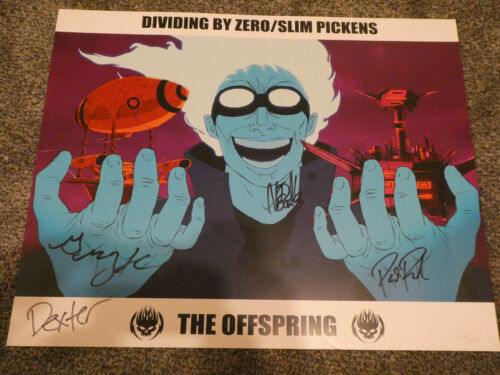 The Offspring Signed 16x20 Poster. #149/200. Ships ASAP!