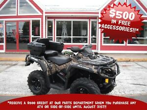 2016 CAN-AM OUTLANDER XT BACKSEAT!! FENDER PROTECTOR AND PEGS!!
