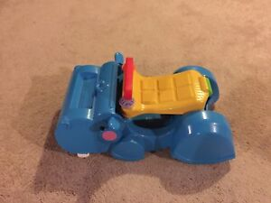 Fisher price push or ride hippo