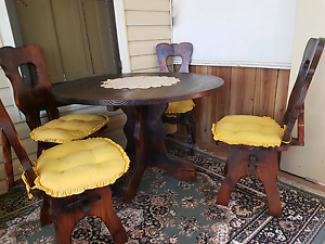 Dining Table & 4 Chairs Tuncurry Great Lakes Area Preview