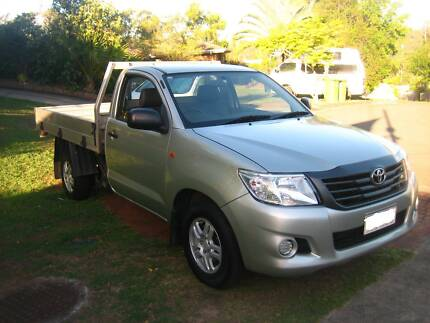 2012 Toyota Hilux Workmate Ute - Manual Oxenford Gold Coast North Preview
