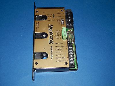 Montronix Ps100dgm-hg Power Supply Module Unit 3pole 230volt 10amp Ps100dgmhg