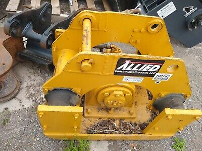 Allied Hydraulic Plate Compactor Post Plate Pounder 45mm Excavator Backhoe