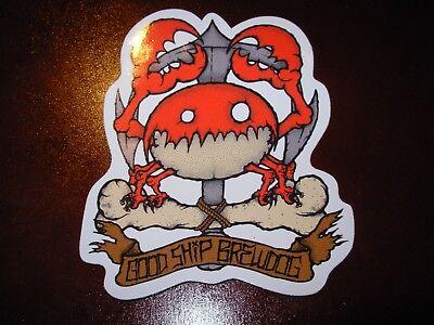 Brewdog Brew Dog Crab Hardcore Punk Sticker Decal Craft Beer Brewery