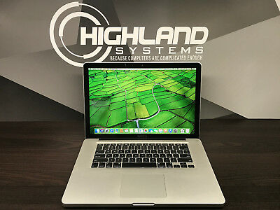 APPLE MACBOOK PRO 15 PRE-RETINA INTEL 2.4GHZ / 4GB RAM / 500GB DRIVE / WARRANTY