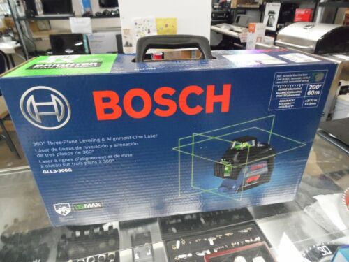 Bosh GLL3-330CG 360⁰ Connected Green-Beam Three-Plane Leveling NEW