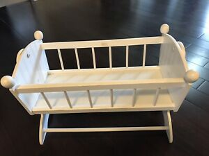 KidKraft wooden toy cradle for doll