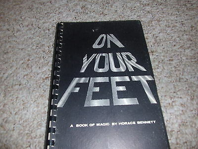 On Your feet book Horace Bennett