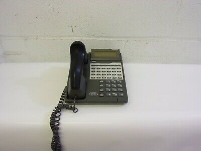 Iwatsu Ix-12ktd-2 12 Button Multi-line Telephone Gray
