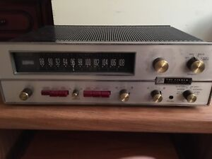 The Fisher 600T tube Hybrid Receiver