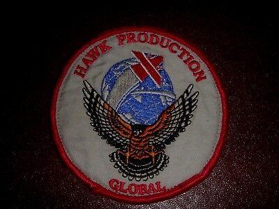 RARE OLD BRITISH AEROSPACE HAWK  PATCH 1970's