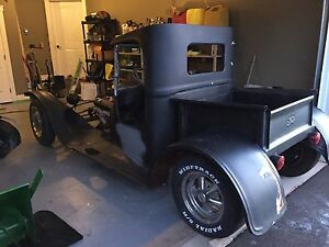 1918 ford C cab rat rod with papers !!!!