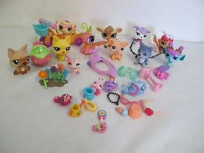 LITTLEST PET SHOP FIGURES & ACCESSORIES BUNNY RABBIT SNAIL PIG COW MORE  for sale  Shipping to Canada