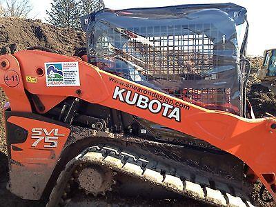 Kubota Svl75 Svl90 Soft Sided Skid Steer Snow Plow Cab