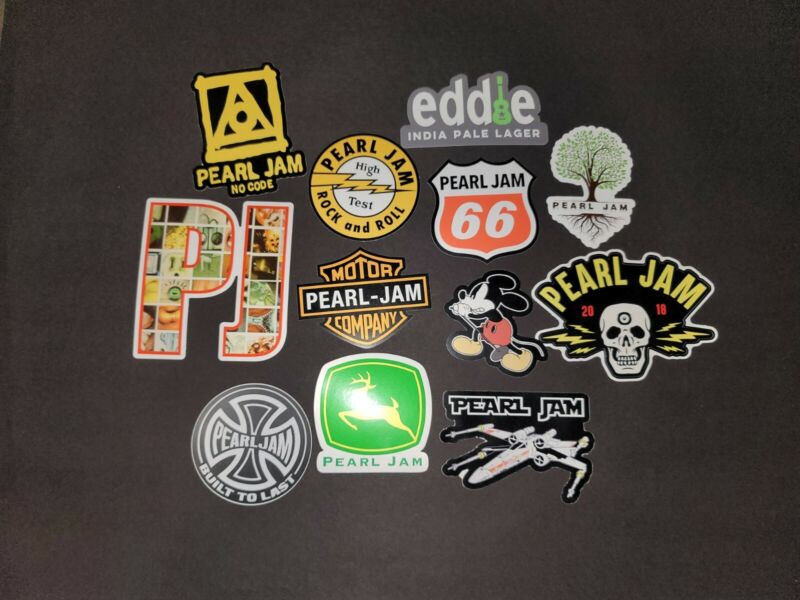 Pearl Jam Sticker Vinyl Decal classic albums tours  star wars posters