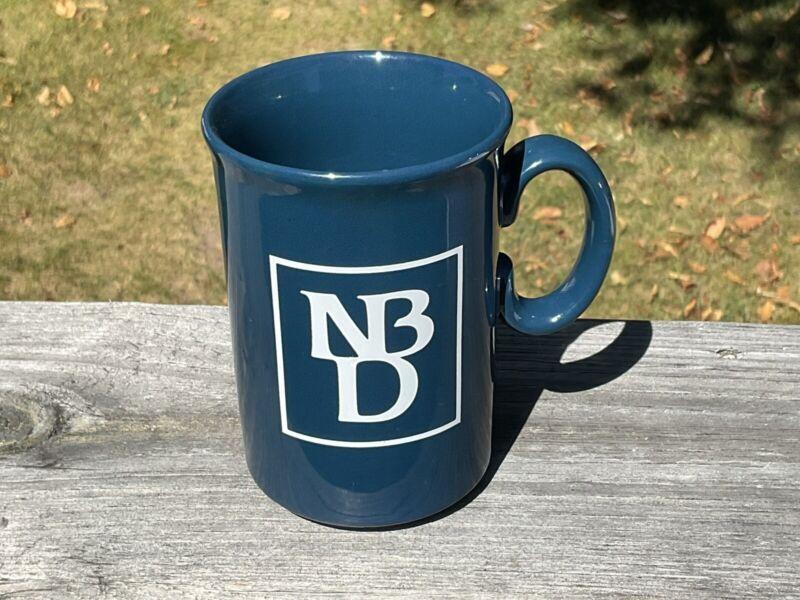 VTG NBD Logo Mug National Bank of Detroit