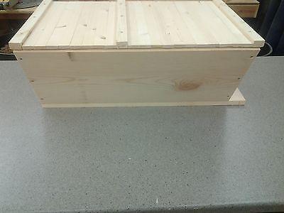 Bee Hive Top Bar With 20 Top Bars Backyard Bee Keeping Hive