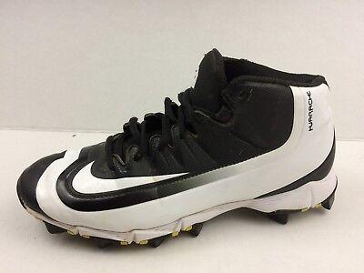 e7e427e8ba7 Nike Huarache 2KFILTH Keystone 807138 017 Boys 6 Youth Baseball Cleats  Black Wht