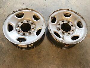 Set of 16x6.5 8x6.5 Steel Wheels