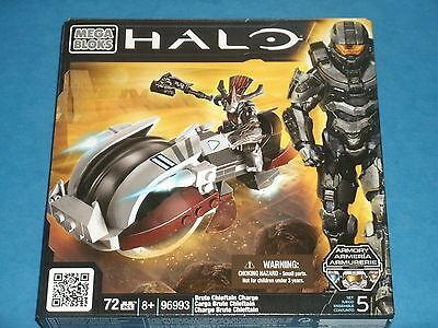Mega Blocks HALO 'Brute Chieftain Charge' (Vehicle & Mini-Figure) 72 Pieces 8+