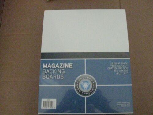 1 SET OF CSP MAGAZINE SIZE BACKING BOARDS & CSP MAGAZINE BAGS RESEALABLE