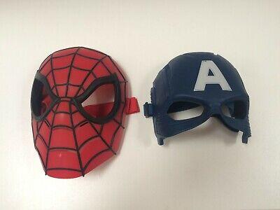 Cap. Amerika und Spidermann Maske