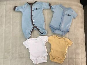 Boy preemie clothing (4pcs)