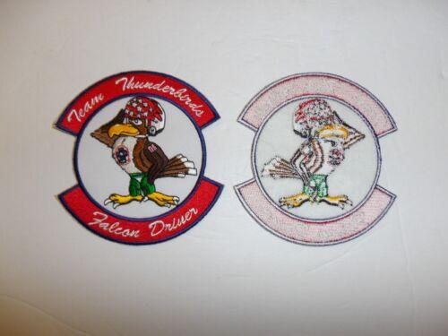 b2332 USAF Thunderbirds  Demonstration Team Air Force Falcon Driver Pilot IR19D